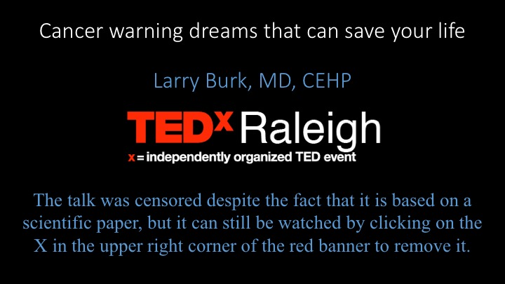Larry Burk at TEDx Raleigh